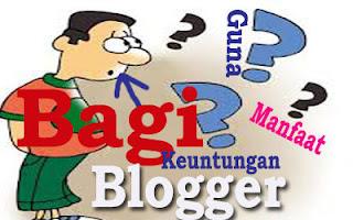 Manfaat dan Keuntungan Jadi Blogger