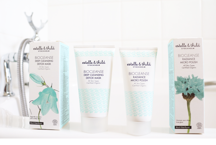 Estelle & Thild Biocleanse Deep Cleansing Detox Mask & Radiance Micro Polish review