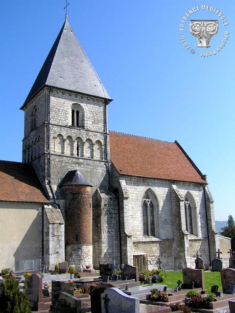 NOTRE-DAME-DE-BLIQUETUIT (76) - Eglise Notre-Dame (XIIe-XVe siècle)