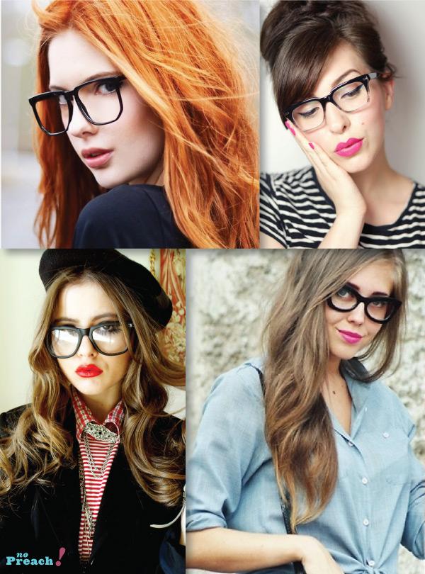 ... sendo) os óculos de grau. Tudo bem que tem gente que nem precisa, e usa  somente uma lente sem grau. Mas enfim, sabemos que fica bem feminino e  charmoso, ... 1d4f16b934