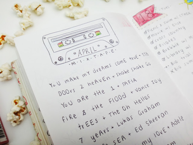milky way blog, milkywayblog, milky way blogger, milkywayblogger, mwb, georgia, gigi, abbott, bullet journal, bujo, journaling, blog, blogger, vlogger, diary, journal,organisation, organising, quote, inspiration, mixtape, music, playlist
