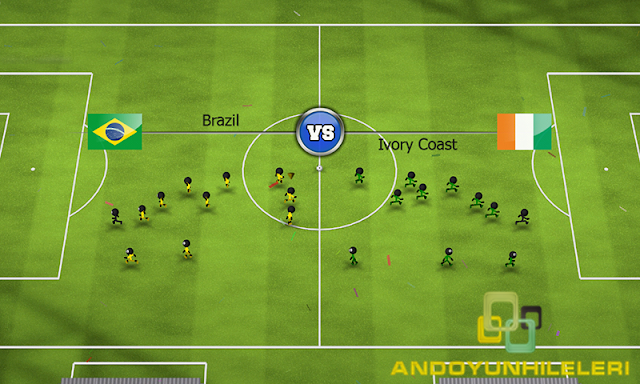 Stickman Soccer 2014 v2.7 Hileli