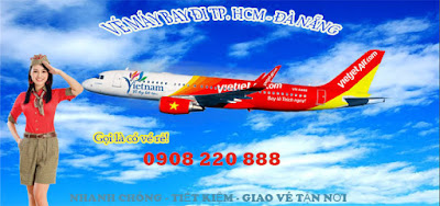 Vé máy bay đi Đà Nẵng hãng Vietjet Air