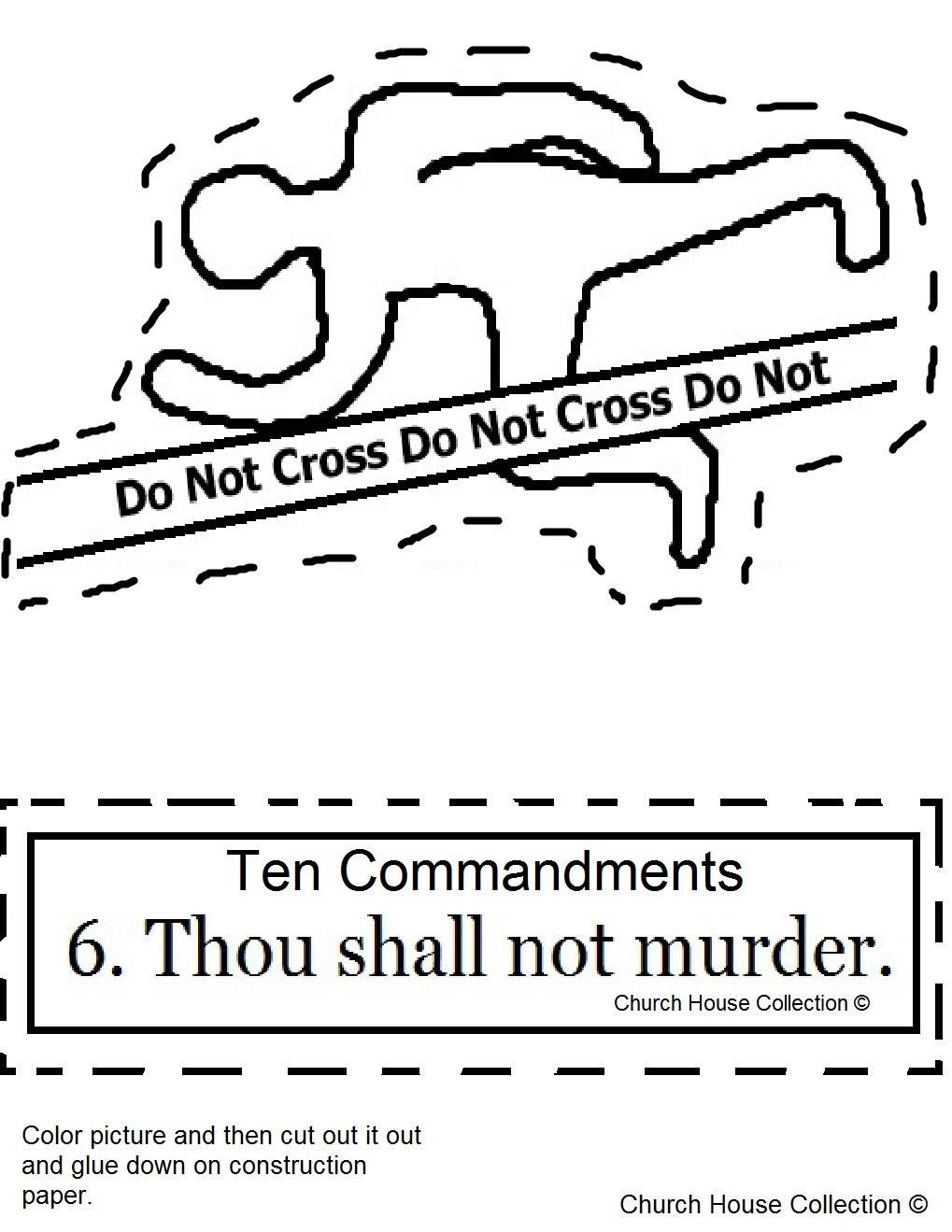 "Church House Collection Blog: Ten Commandments ""Thou Shalt ..."