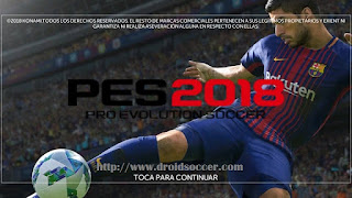 FTS Mod PES 2018 by ER Games Apk + Data Obb