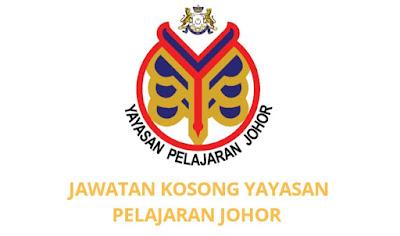 Jawatan Kosong Yayasan Pelajaran Johor 2019 (YPJ)