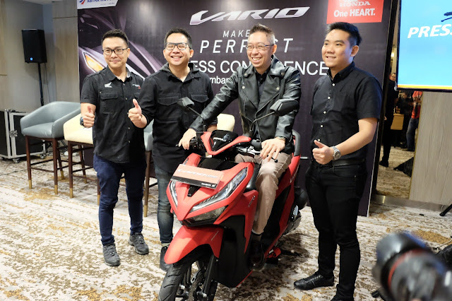 All New Honda Vario 150 dan All New Honda Vario 125 Semakin Sporty