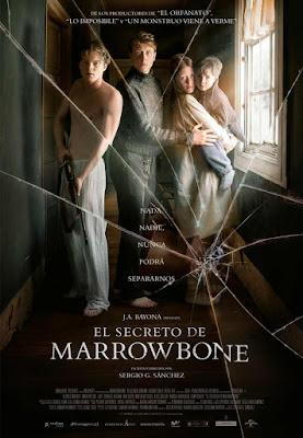 El Secreto de Marrowbone  - poster españa