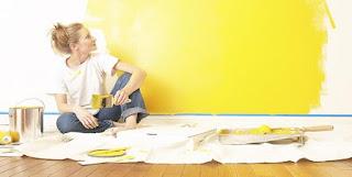 5 Solusi Simpel Menghilangkan Bau Cat Dinding Rumah