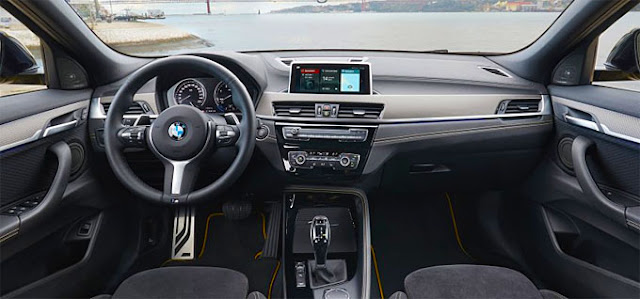 SUV-Coupé X2 BMW interior front