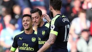 Arsenal Hantam Stoke City 4-1