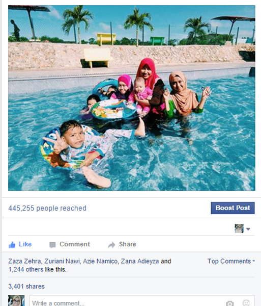 Kolam Mandi Maahad Tahfiz Berciri Islamik Cecah 3K Lebih Perkongsian Di Laman Sosial
