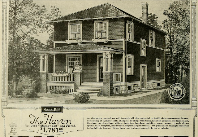 Sears Haven 1923 Sears Modern Homes catalog
