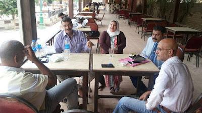 ايمن لطفى ,احمد الحسينى , خالد العمدة,عفاف محمد , ايمن الشناوى,محمد غيث,نشطاء المعلمين,تطوير التعليم