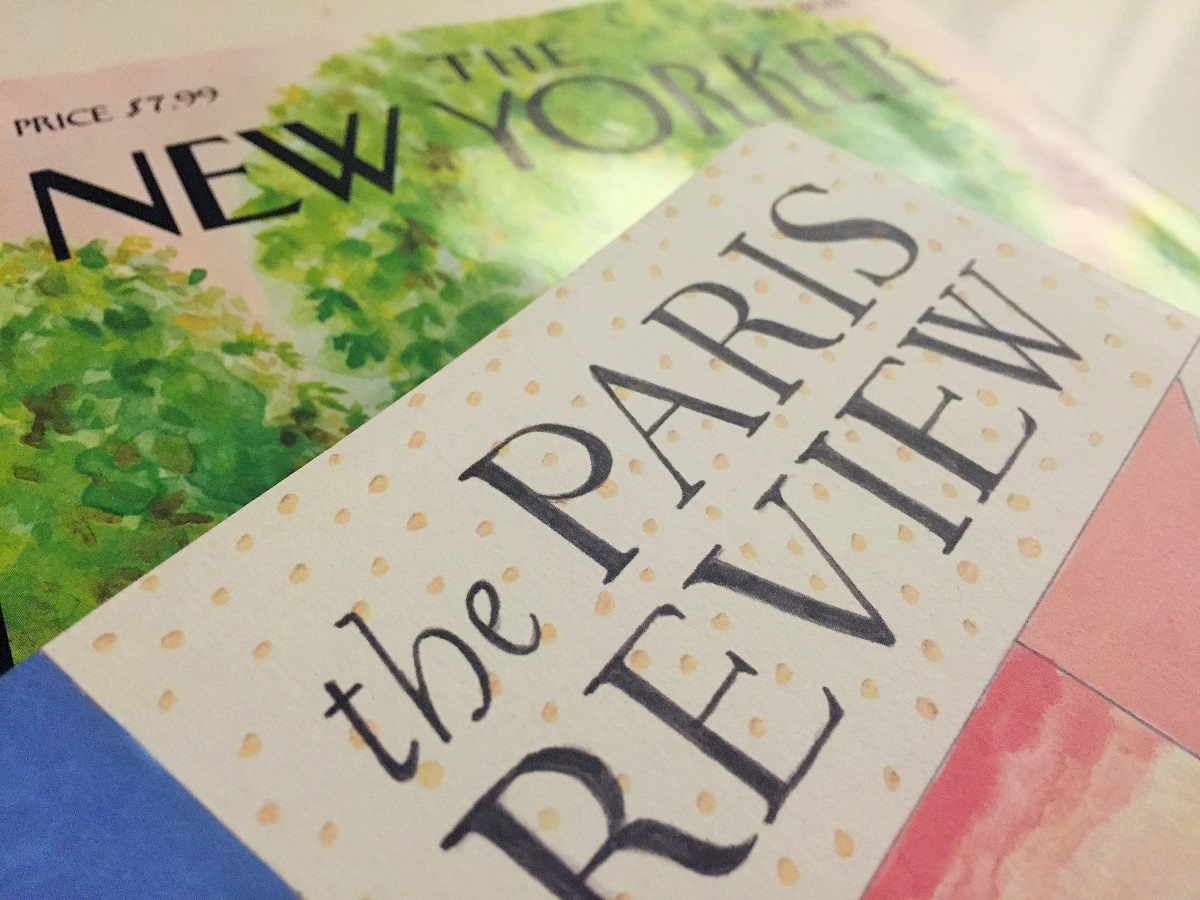 Literary Magazines - The New Yorker and The Paris Review | BOOKPORN CLUB