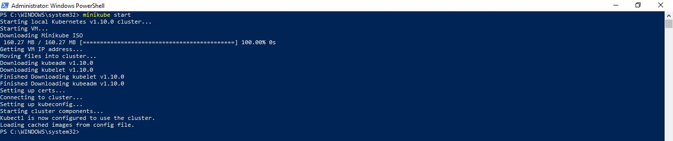 Big Data and Cloud Tips: Installing Minikube on Windows