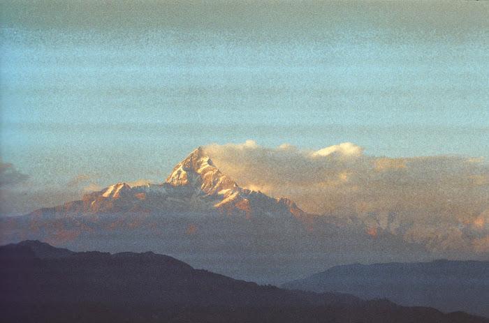 Népal, Pokhara, Annapurna, Ulleri, © L. Gigout, 1990