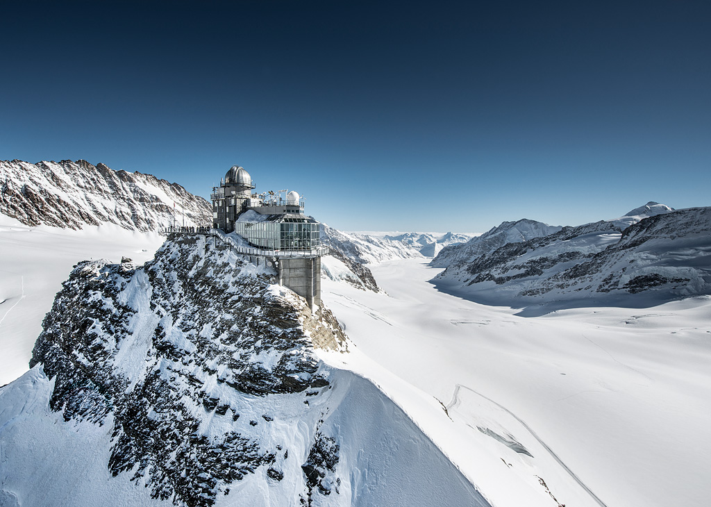 Jungfraujoch - Top of Europe - na Suíça