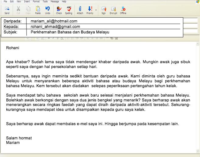 Kelas Cikgu Siti 2016: Contoh Soalan-soalan E-mel Tidak ...