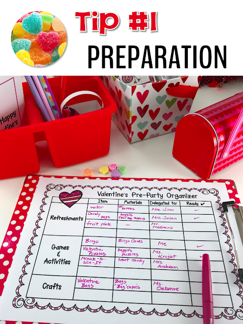 Imagine a stress-free Valentine Day party with your elementary students.  Find Valentine activities, resources and freebies to help you save time and plan a fun Valentine's Day party for your kindergarten, 1st, 2nd, 3rd, 4th, 5th grade, and home school students!