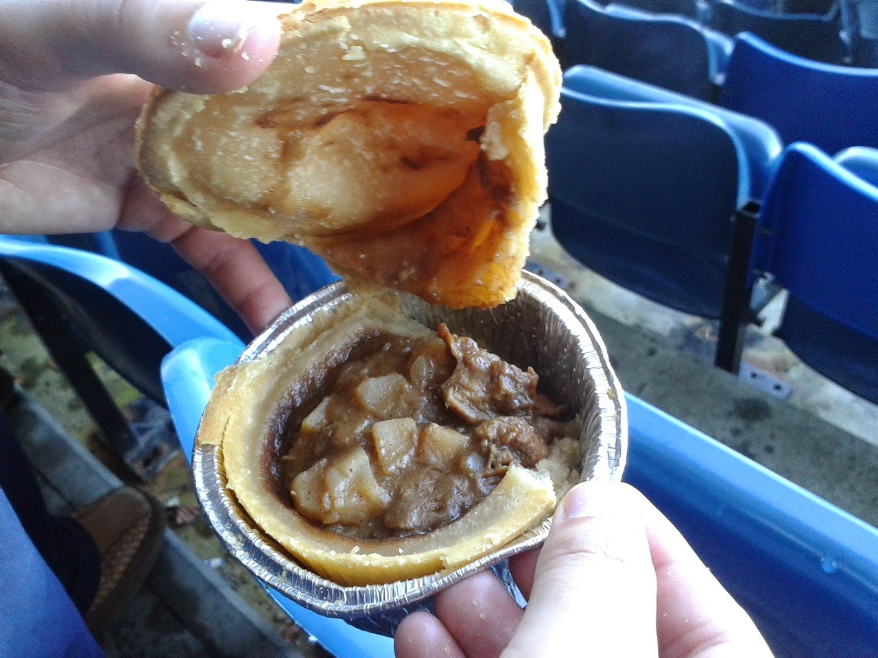 Phat Pasty Co's Steak and Potato Pie Review