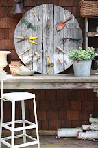 Sweet Savannah Garden Pallet Wall Clock Thrifty
