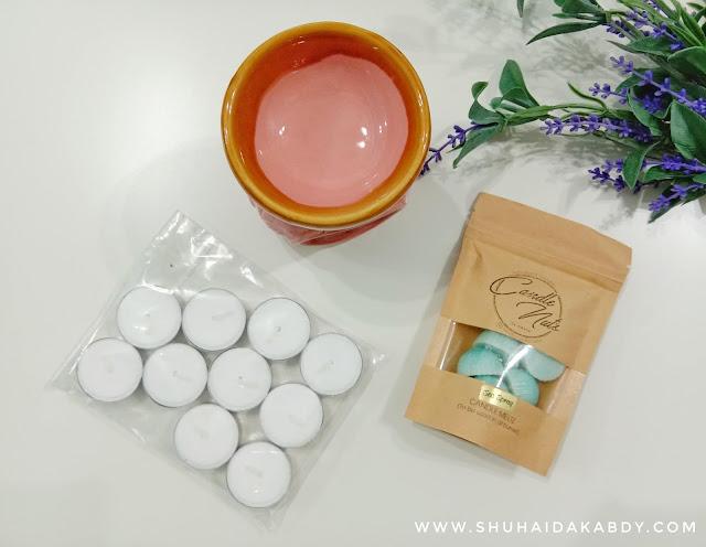 Jom Wangikan Rumah Dengan Candle Nuts By Nadia, Candle Nuts By Nadia