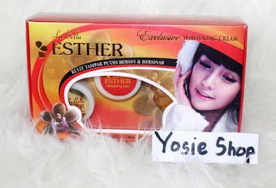 Esther Cream BPOM New Original Penghilang Flek Hitam