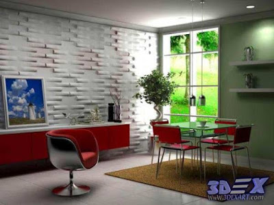 3d gypsum wall panels, 3d plaster wall paneling design for kitchen, decorative wall panels