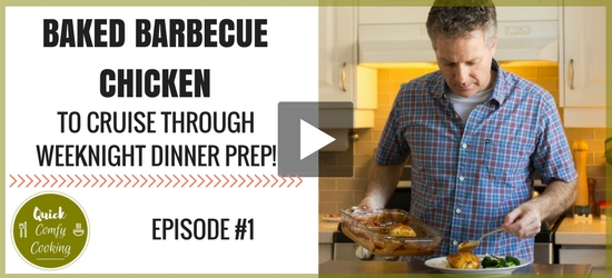 Video: Baked Barbecue Chicken | Quick Comfy Cooking