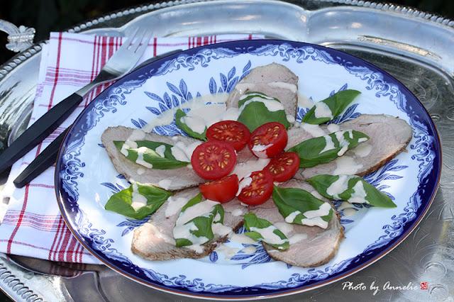 Kalvkött med tonfisksås - Vitello Tonnato