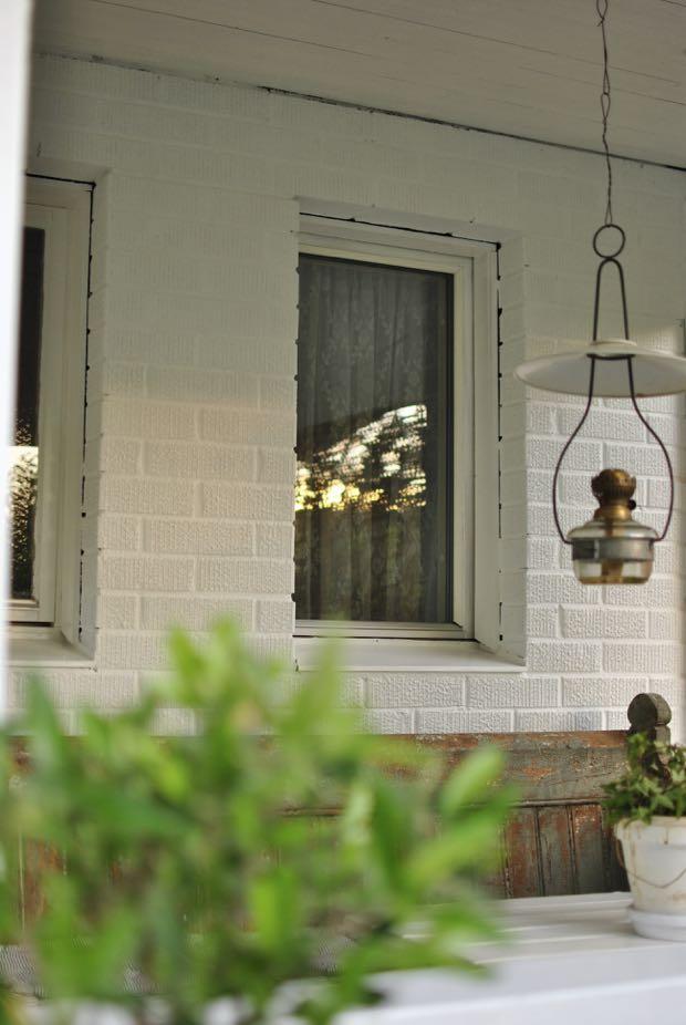 måla tegel farstukvist veranda hannashantverk.blogspot.se