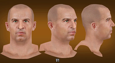 NBA 2K13 Jason Kidd Cyberface without beard