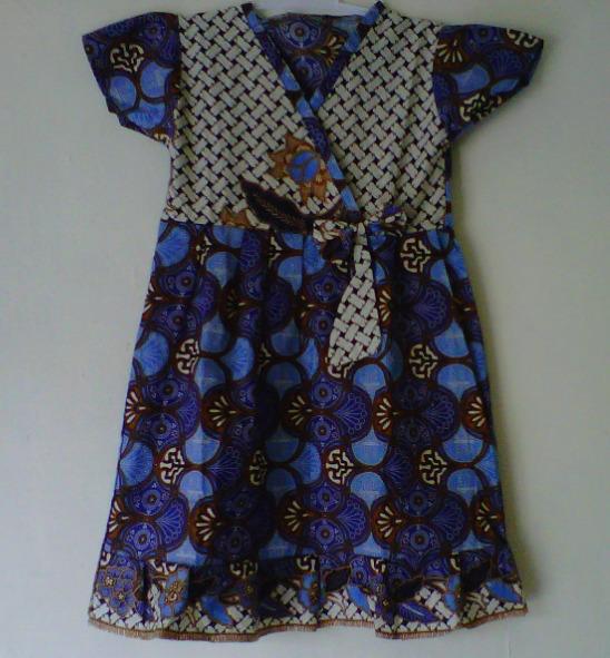 Baju Batik Anak Muslim: Model Baju Batik Untuk Anak Anak