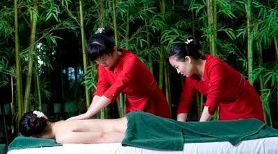 masajes cuatro manos