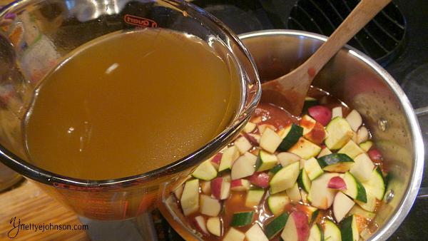 NJ Vegetable Soup