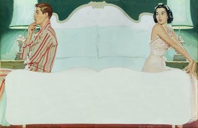 Resultado de imagem para couple in the bedroom illustration