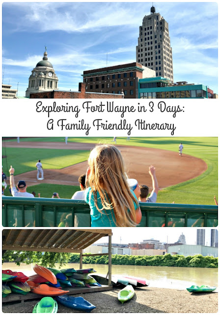 From kayaking with views of the city to a budget friendly baseball game to a hands-on science museum, here is a family friendly itinerary for exploring Fort Wayne, Indiana is just 3 days.