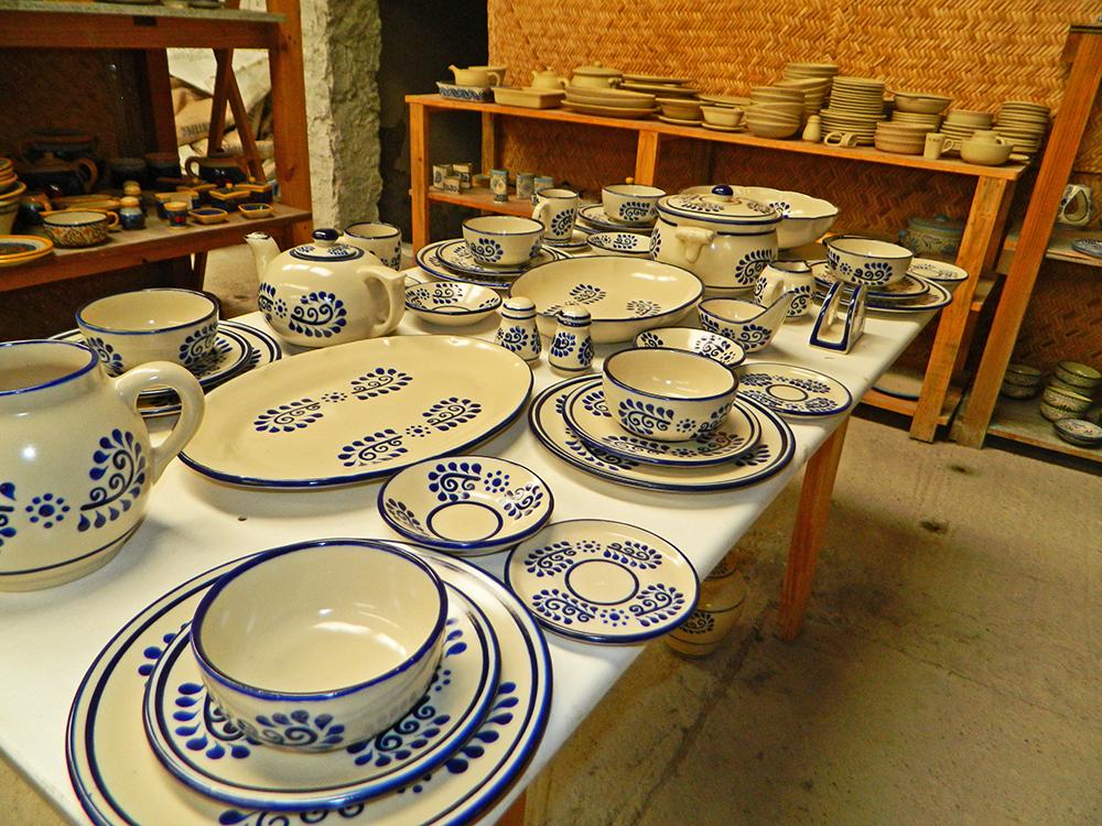 Cer mica y barro en temascalcingo for Herramientas ceramica artesanal
