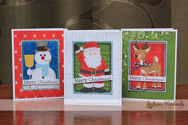 Tis The Season Christmas Cards by Juliana Michaels