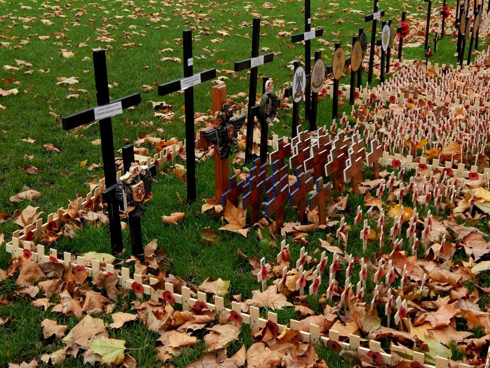 Poppy Day - vzpomínka na válečné veterány v Londýně