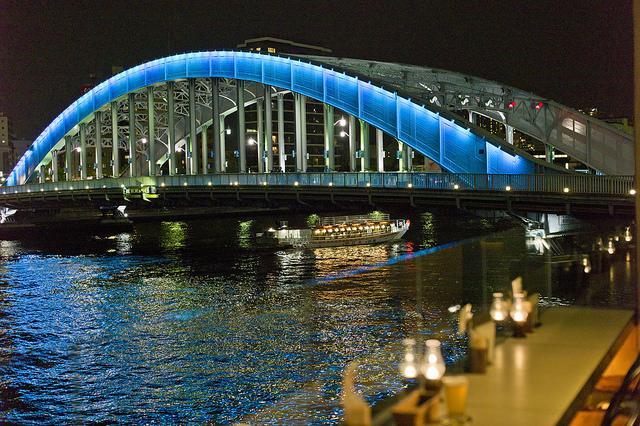 物食日記: 鉄骨橋をめぐる散歩