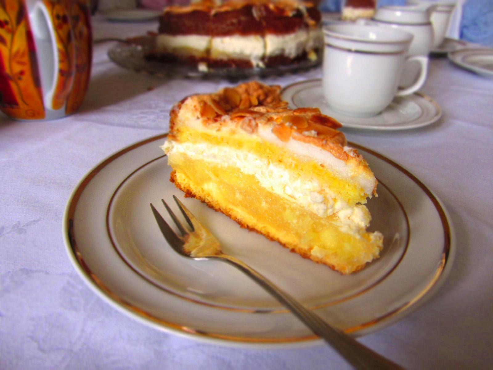 Ina Is S T Kalte Tage Im Sommer Apfel Baiser Torte
