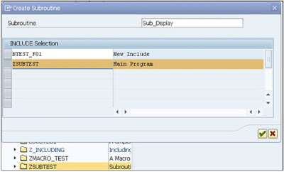 SAP ABAP - Subroutines
