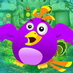 Play Games4King Purple Bird Es…
