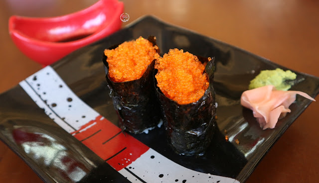 Sushi di Fushimi Restaurant di The Onsen Resort, Malang