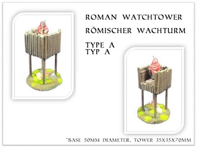 Watchtower resin casted, kit (6 EUR)