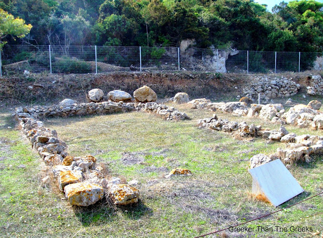 The Hearth Building Ancient Heraion Loutraki Greece