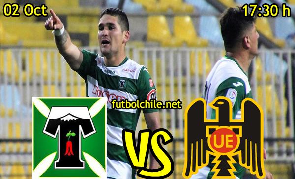 Deportes Temuco vs Unión Española,