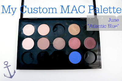 my custom mac palette atlantic blue swatch